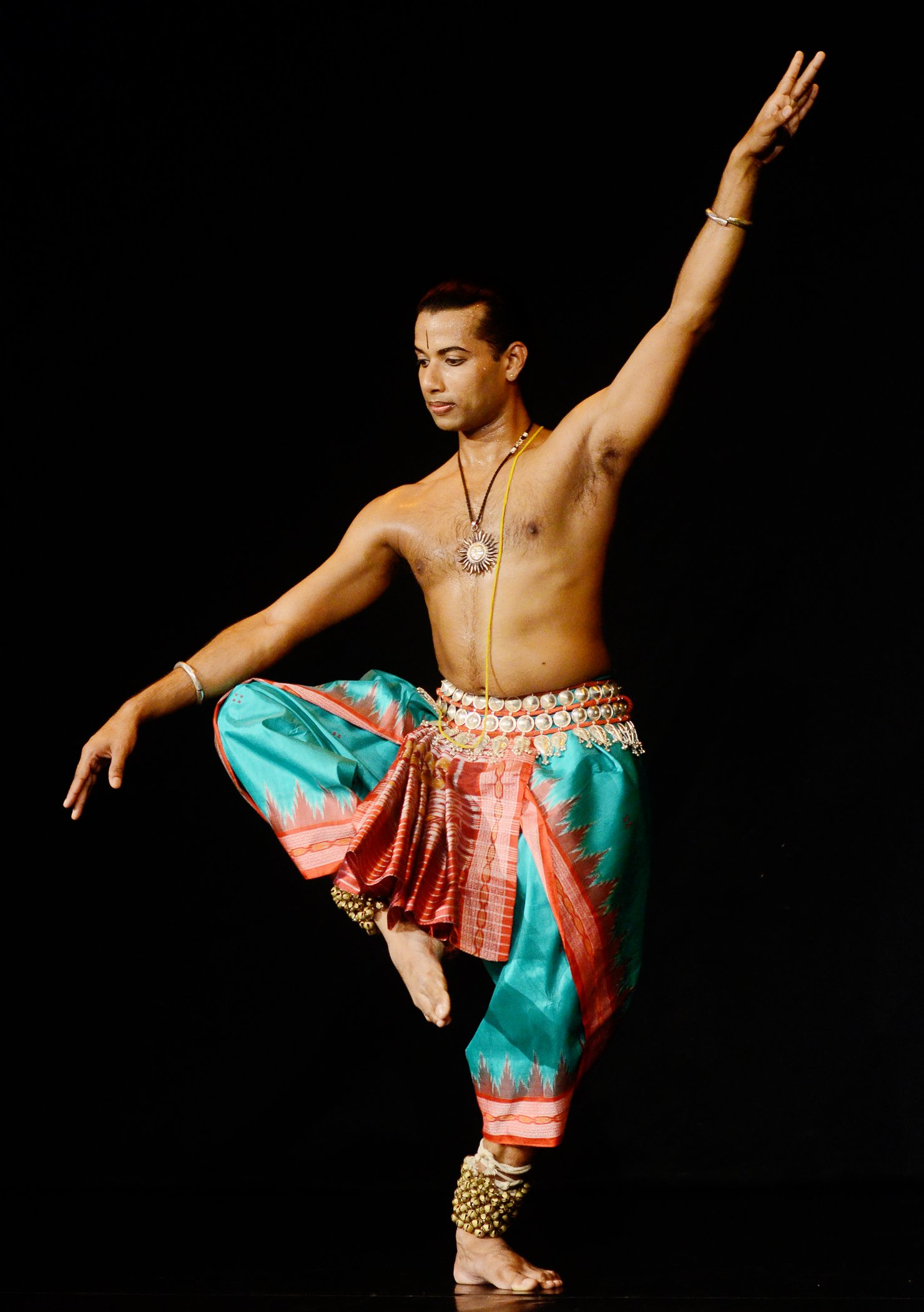 Nandi the Divine Bull : Odissi by Rahul Acharya during the NCPA Mudra Dance Festival 2016 at Experimental Theatre,NCPA on 23/04/2016.  Photos By : NARENDRA DANGIYA